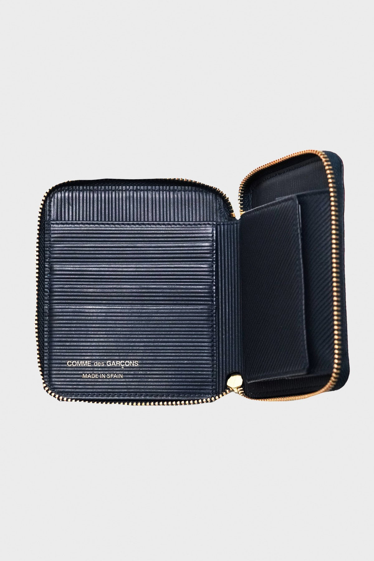 Comme des Garçons WALLET - Intersection Wallet - Navy - Canoe Club