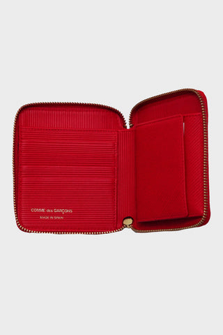 comme des garcons wallet Intersection Wallet - Red