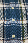 Blue Yarn Dye Plaid Long Sleeve