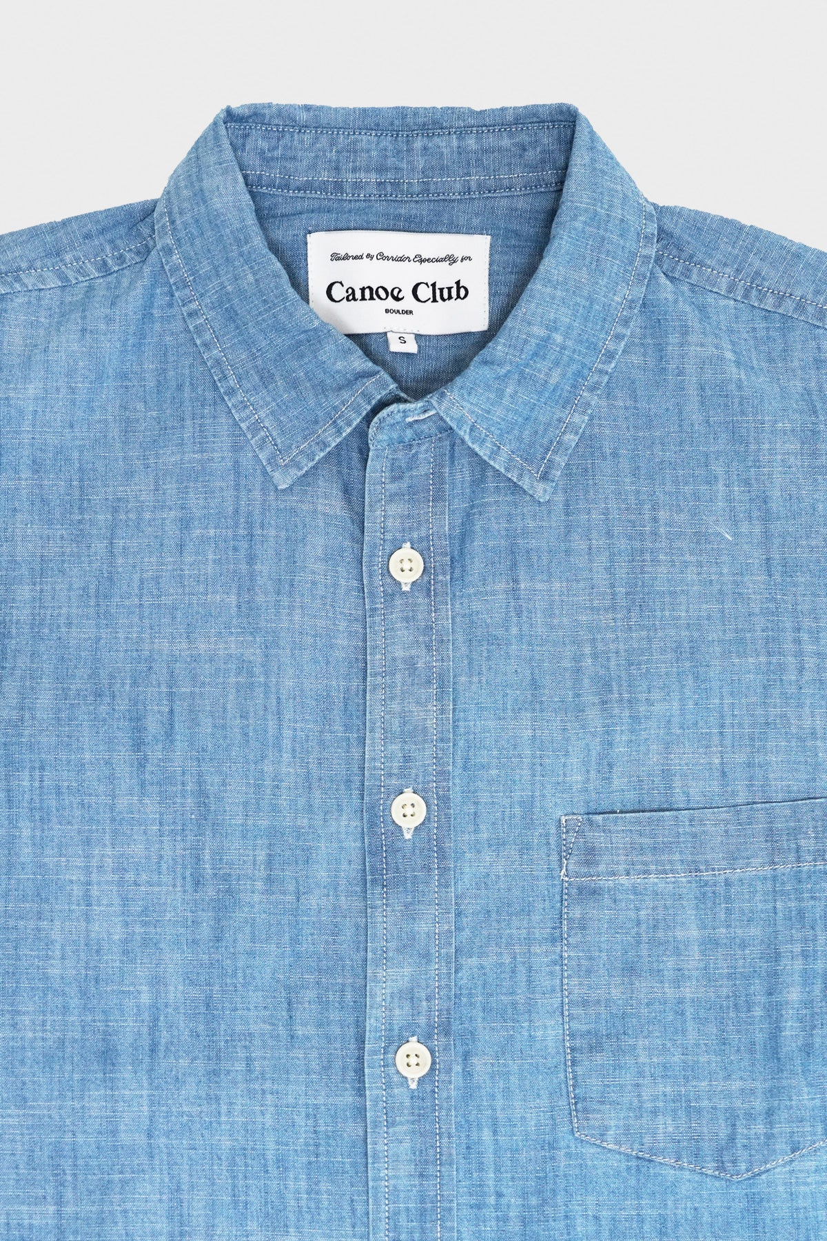 Corridor - Canoe Club Chambray - Blue - Canoe Club