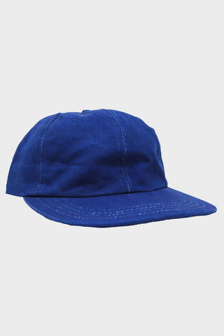 corridor clothing nyc Canvas Cap - Duck Dye Indigo