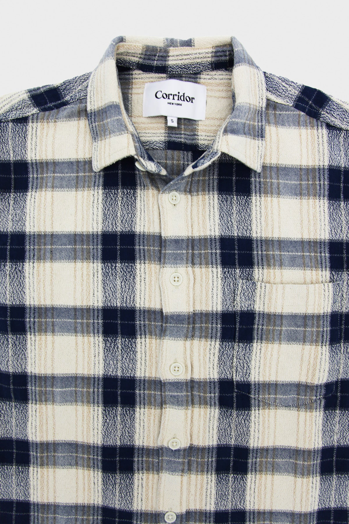 corridor nyc Capricorn Plaid shirt - Taupe