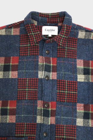Patchwork Wool Jacket - Multi