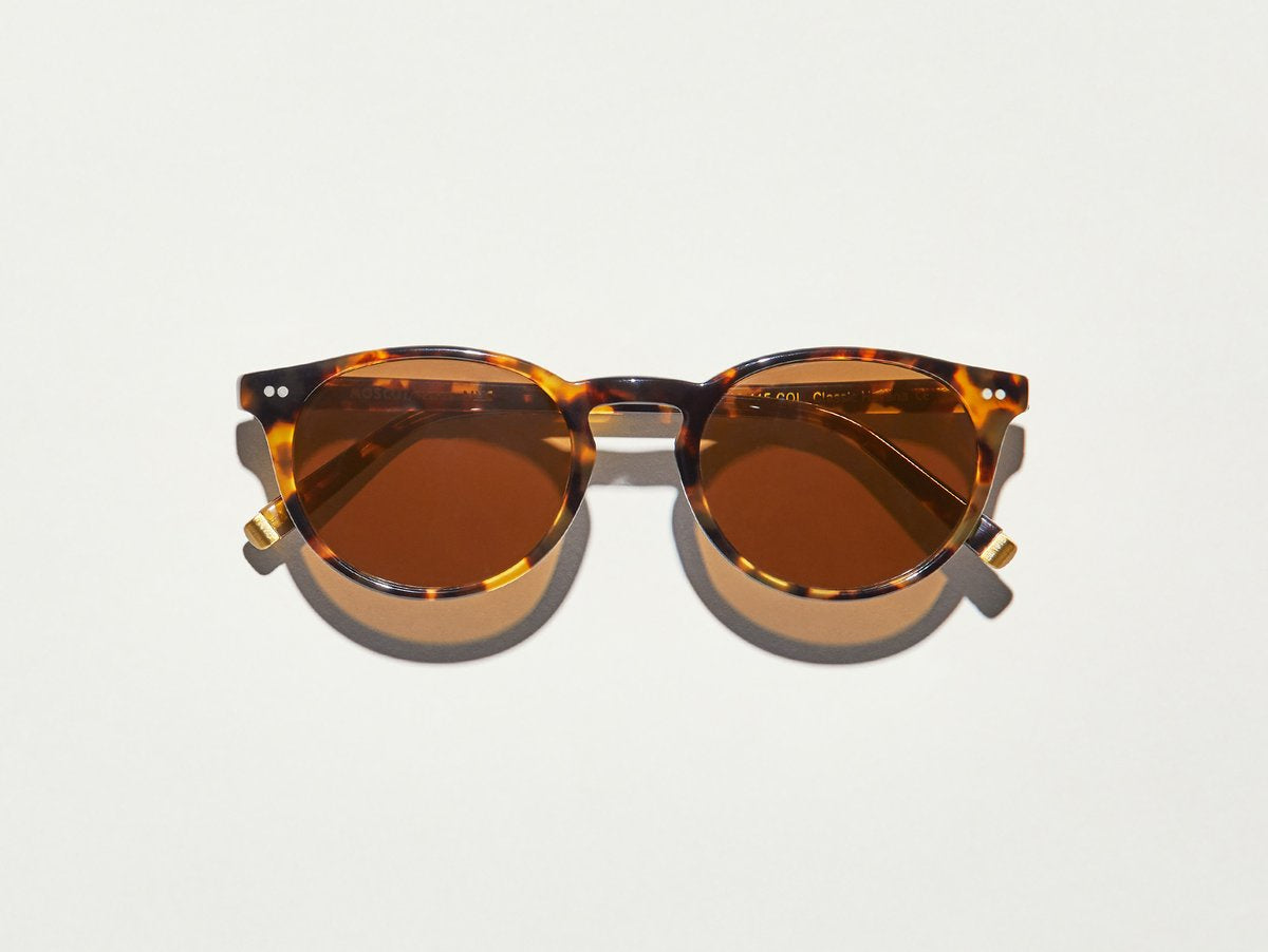 moscot Frankie sunglasses - Classic Havana/Brown Lenses