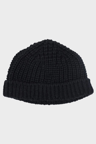 British Wool Short Hat - Black