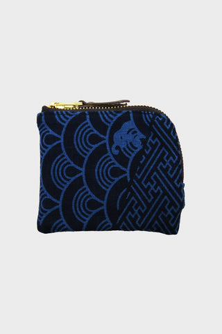 Zipper Wallet - Two Tone Indigo