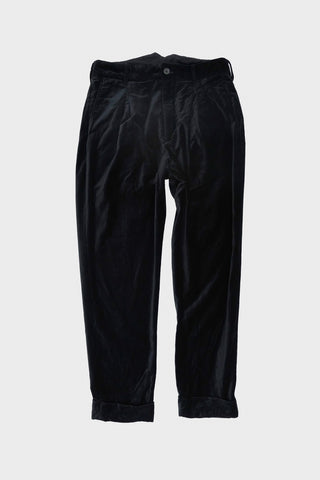 Engineered Garments WP Pant - Black Cotton Velveteen