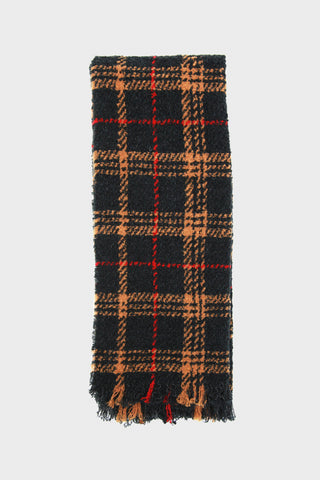 destin Buddy Leeds - Sciarpa Scarf - Camel Black/Red