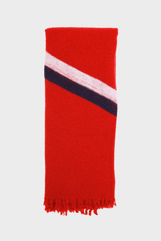 destin Sens Sky - Stola Scarf - Red Multi