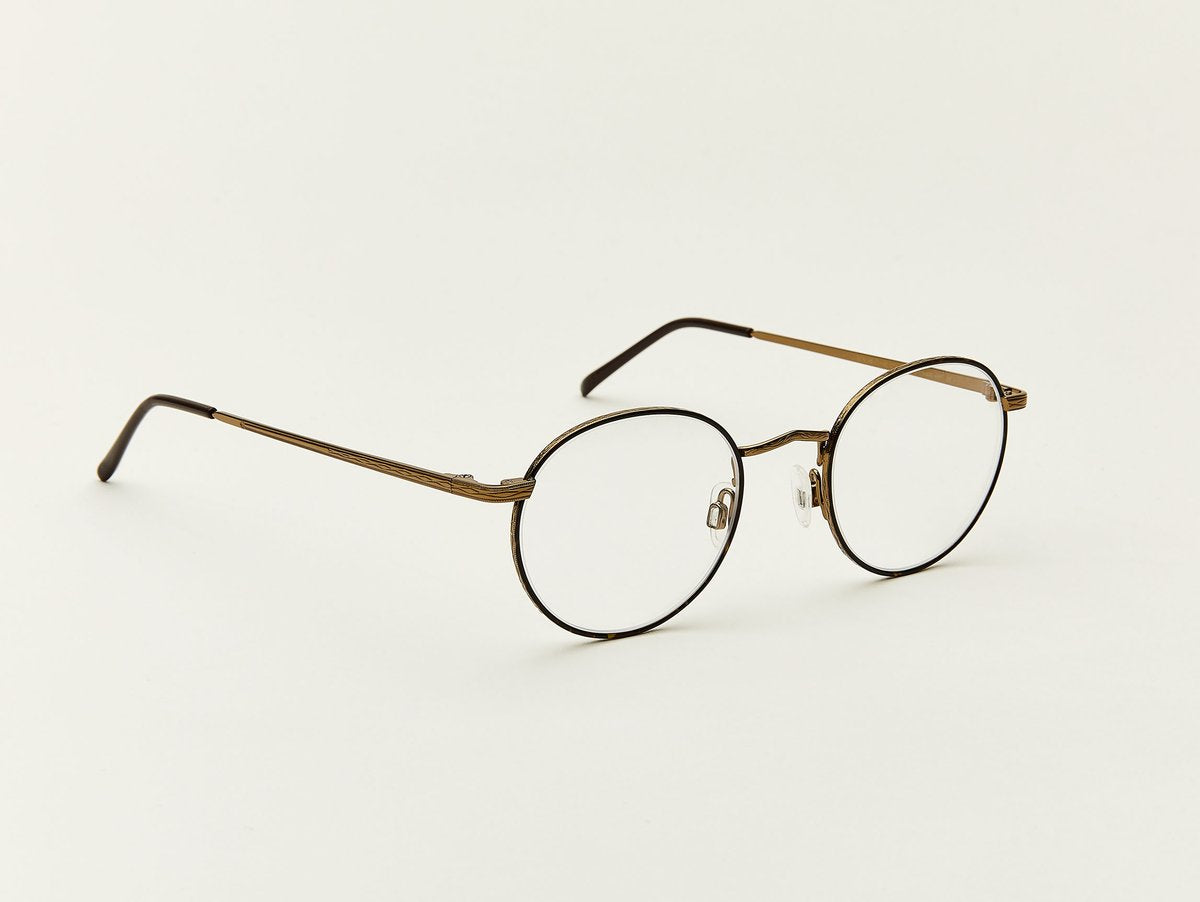 Moscot - Dov - Tortoise/Antique Gold Optical - Canoe Club