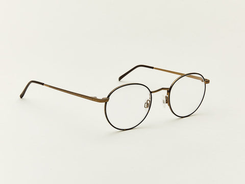 moscot Dov eyeglasses - Tortoise/Antique Gold Optical