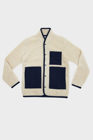 homecore Colden Fleece jacket - Ivory