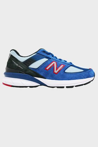 new balance M990 shoes - Andromeda Blue/Team Red