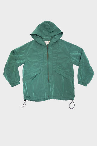 remi relief clothing japan Nylon Color Bleached Mountain Parka - Green