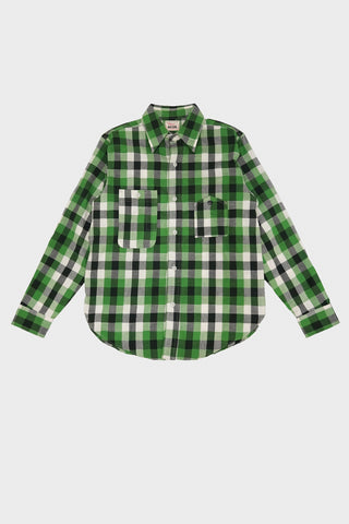Big Yank 1942 Model Shirts House Check - Green Check