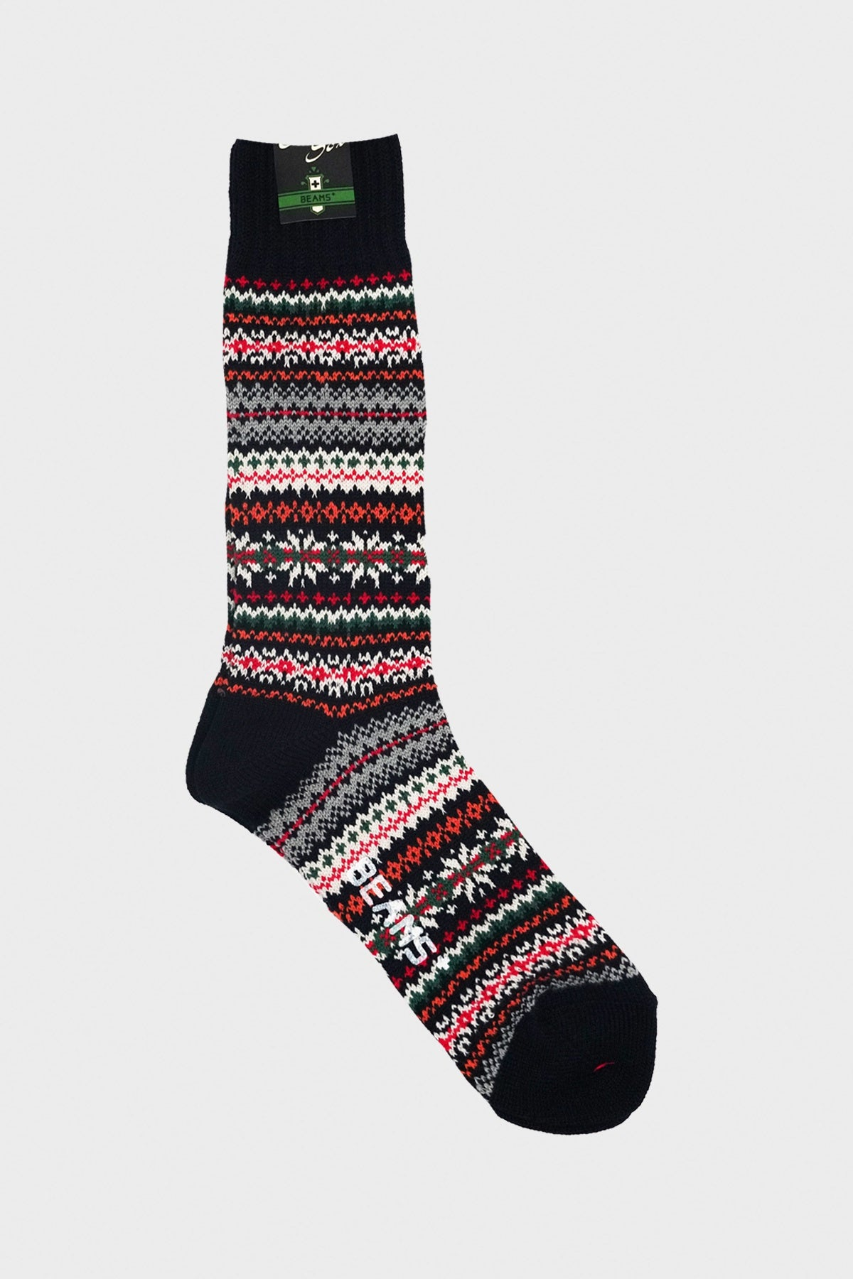 Beams Plus - Outdoor Socks - Navy - Canoe Club