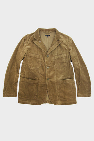 engineered garments Bedford Jacket - Khaki Corduroy