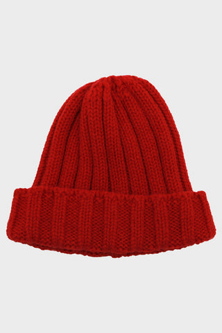 full count clothing japan British Watch Cap - Red
