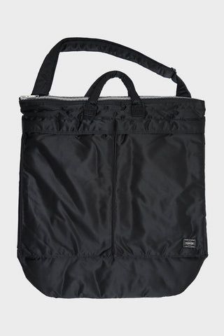 porter yoshida and company 2 Way Helmet Bag - Black