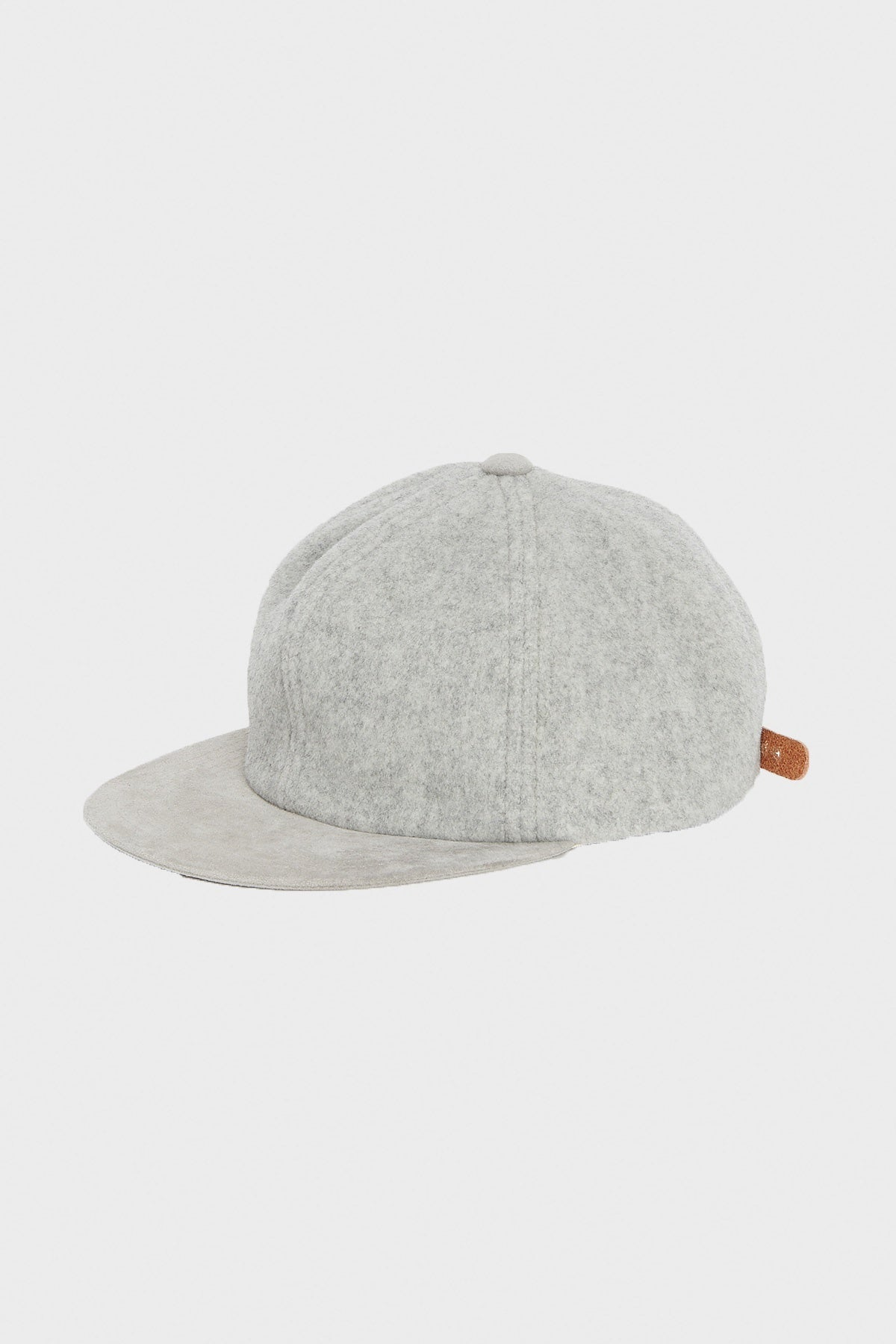 Hender Scheme - 2 Tone Wool Cap - Light Grey - Canoe Club