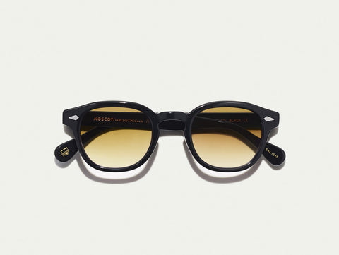 Lemtosh - Black with Chestnut Fade Lenses