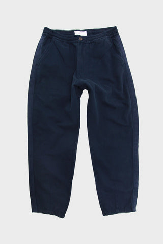 universal works Track Trouser - Navy