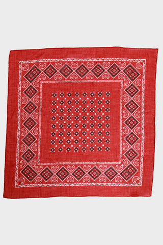 Bandana No. 2 - Crimson