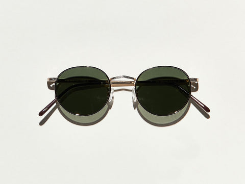 moscot Dov sunglasses - Gold/G-15 Lenses