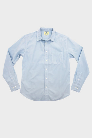 Corridor clothing nyc Long Sleeve Woven - Baby Blue