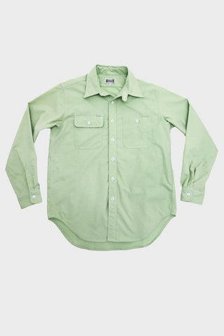 Workaday by Engineered Garments Utility Shirt - Light Green Oxford