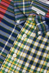 engineered garments 19th Century BD Shirt - Red Blue Green Big Madras Plaid