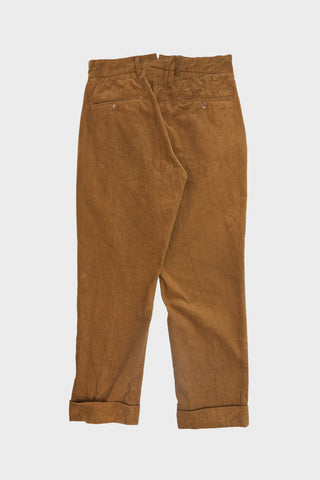 engineered garments Andover Pant - Chestnut Cotton 11W Corduroy