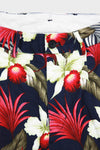 Andover Pant - Navy Hawaiian Floral Java Cloth