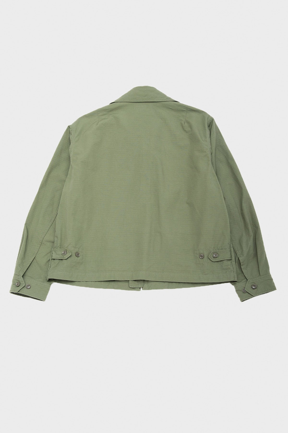 Engineered Garments - Claighton Jacket - Olive Cotton Ripstop - Canoe Club