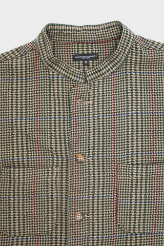 engineered garments Dayton Shirt - Brown Gunclub Check Twill