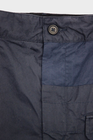 engineered garments Ghurka Short - Dark Navy High Count Twill