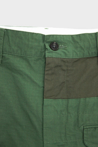 engineered garments Ghurka Short - Olive Cotton Ripstop
