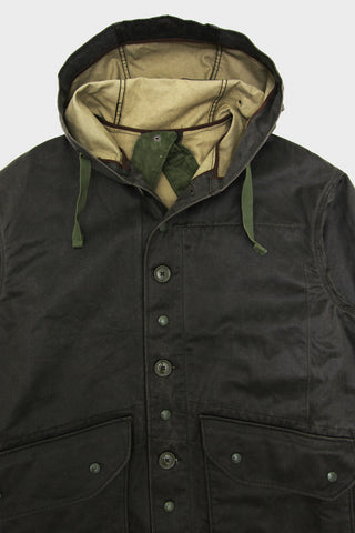 engineered garments Madison Parka - Dark Olive Coated Twill