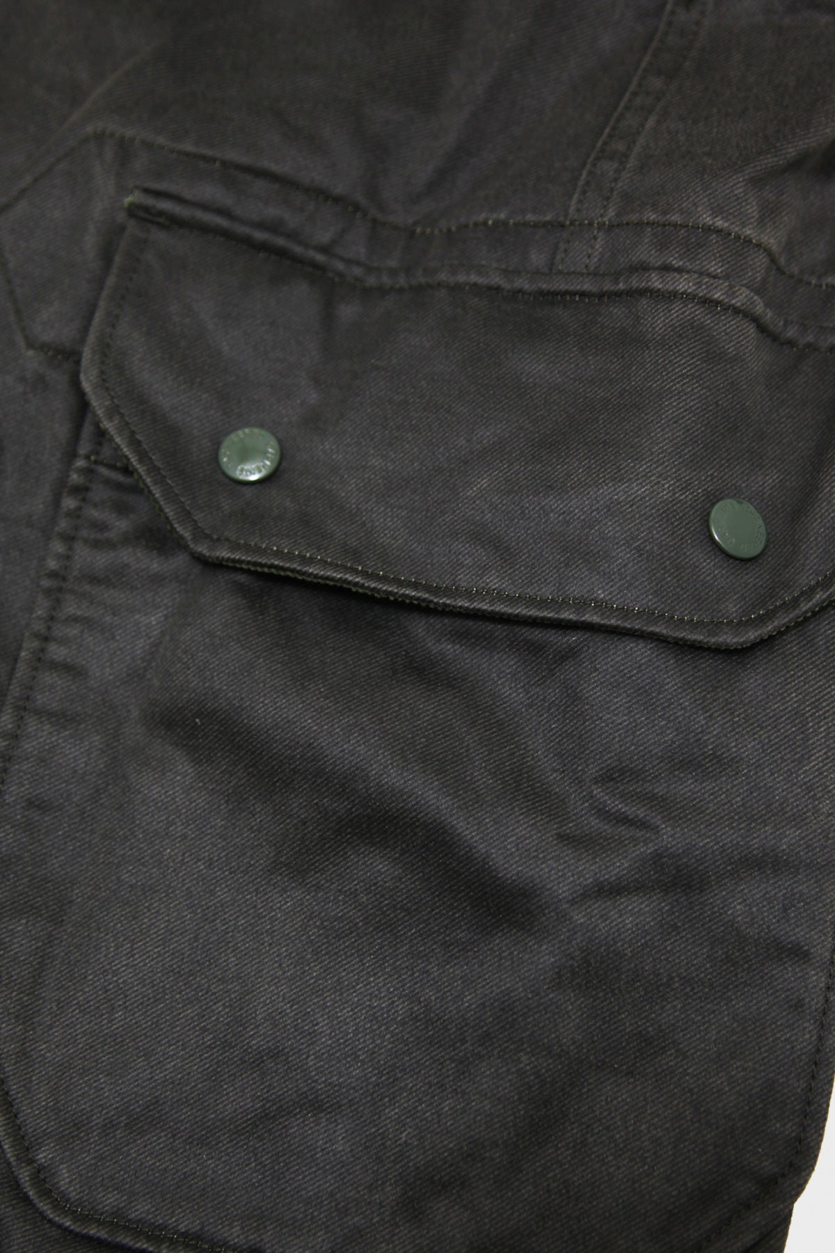 Engineered Garments - Madison Parka - Dark Olive Coated Twill - Canoe Club