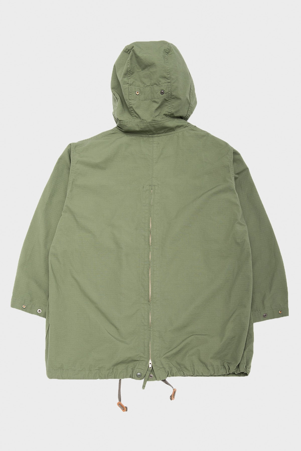 Engineered Garments - Over Parka - Olive Cotton Ripstop - Canoe Club