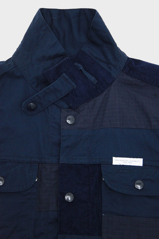 engineered garments Trucker Jacket - Navy Flat Twill