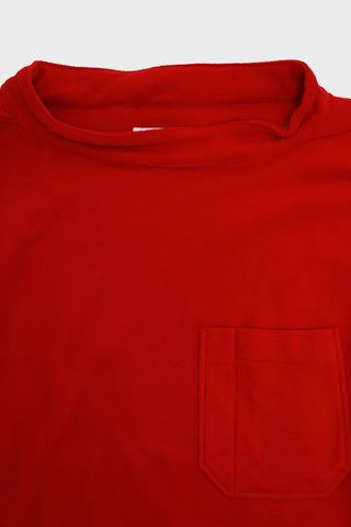 engineered garments workaday Smock Popover - Red Polyester Fleece