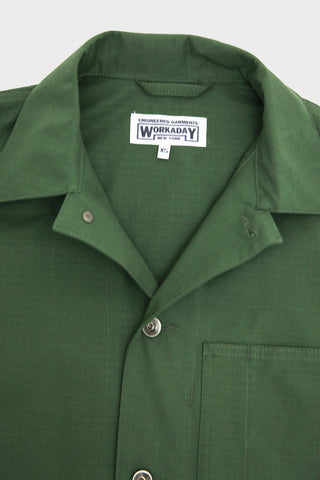 Workaday by Engineered Garments Utility Jacket - Olive Cotton Ripstop