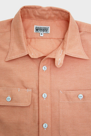 Workaday by Engineered Garments Utility Shirt - Orange Oxford