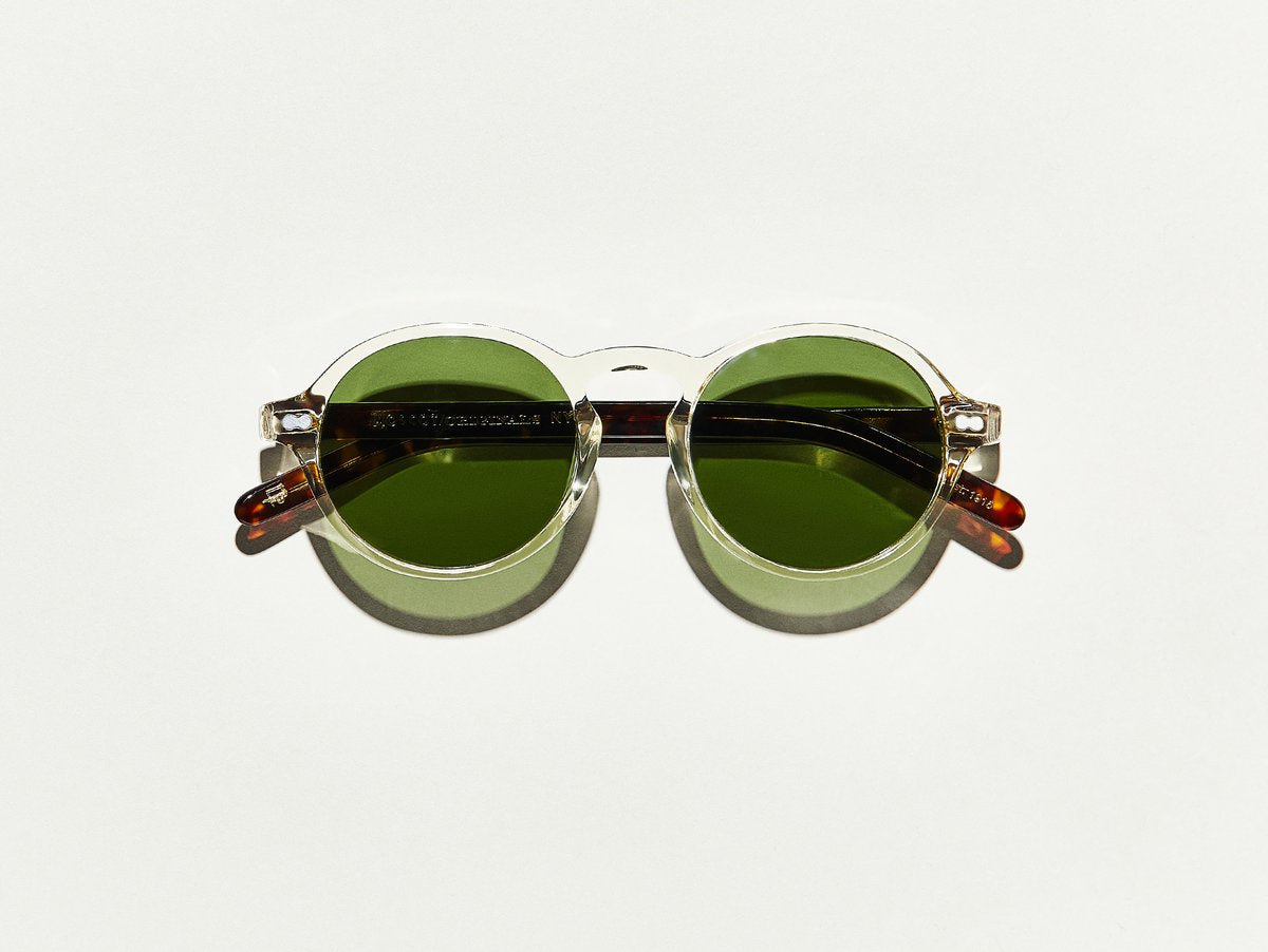 Moscot - Glick - Flesh/Tortoise/Green Lenses - Canoe Club