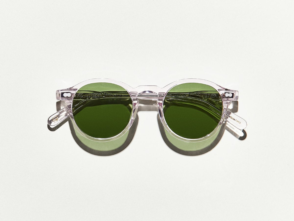 Moscot - Miltzen - Blush/Green Lenses - Canoe Club