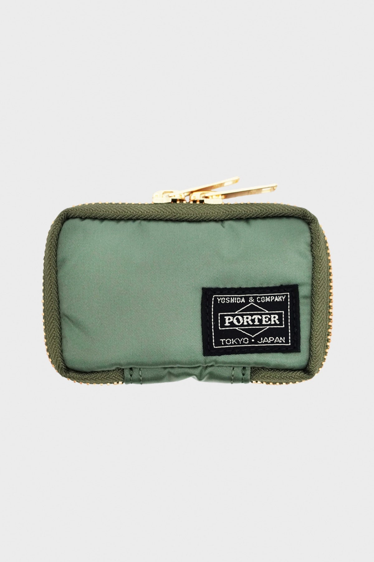 Porter Yoshida and Co - Nylon Key Case - Sage Green - Canoe Club