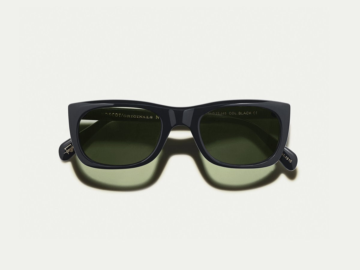 Moscot - Kelev - Black/G15 Lenses - Canoe Club