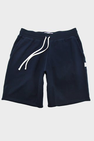 Mid Weight Terry Sweatshort - Navy