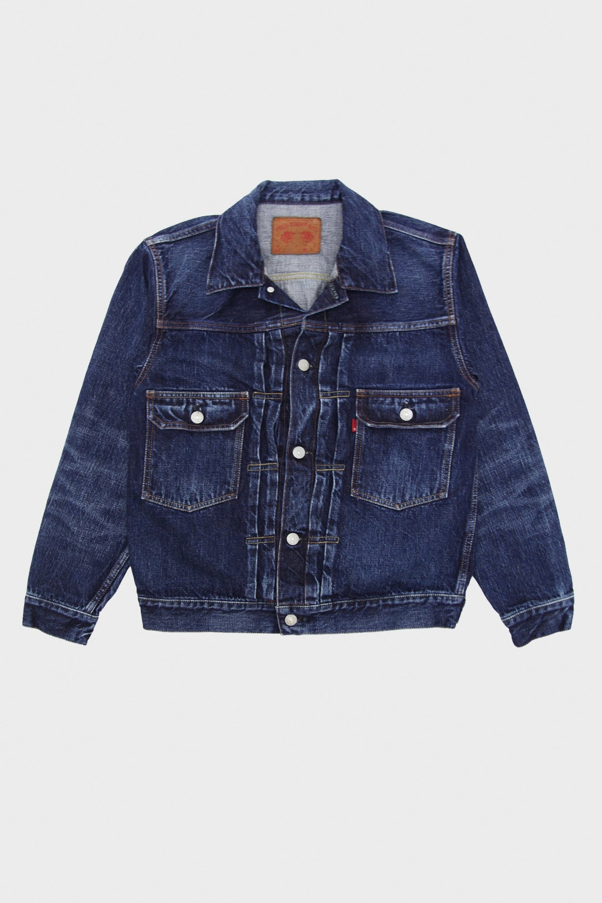 Full Count - Half-Way There Denim Jacket - Indigo - Canoe Club